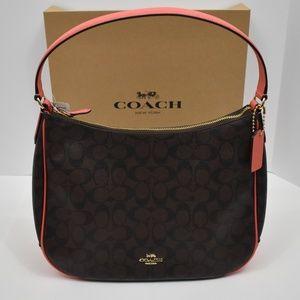 Coach Hobo Shoulder Zip Bag F29209